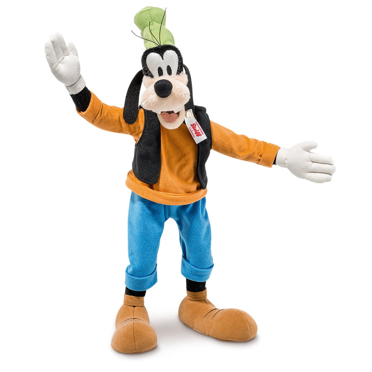 goofy collectible by steiff 7 1 2 limited edition shopdisney