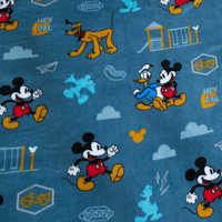 Image of Mickey Mouse, Donald Duck, and Pluto Fleece Throw - Personalizable # 3