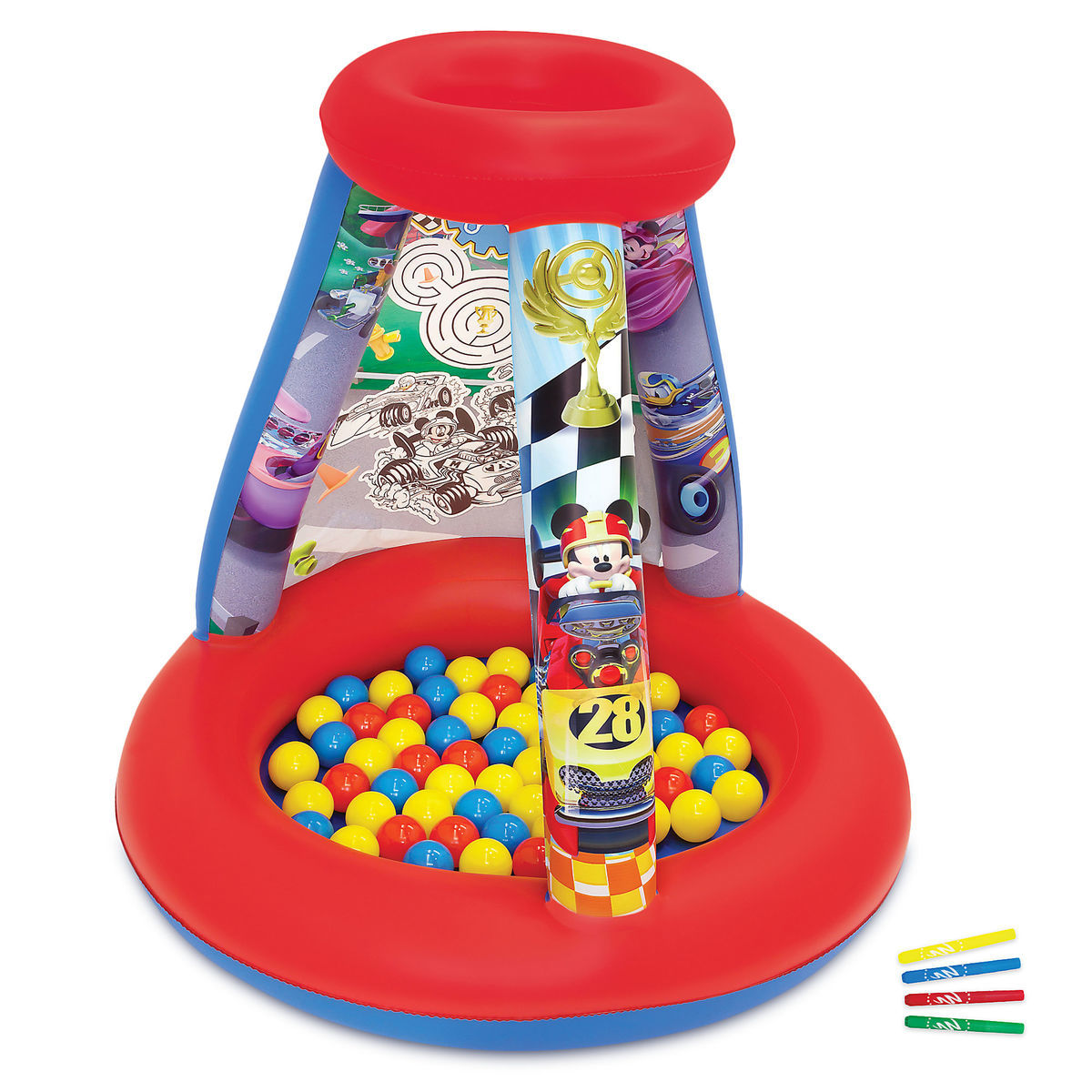 402c36f65e89 Product Image of Mickey and the Roadster Racers Color  n  Play Activity  Playland Set