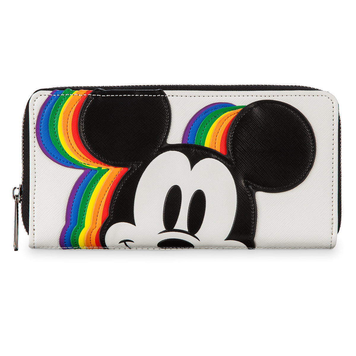 8eecc689ff177 Product Image of Mickey Mouse Rainbow Wallet by Loungefly   1