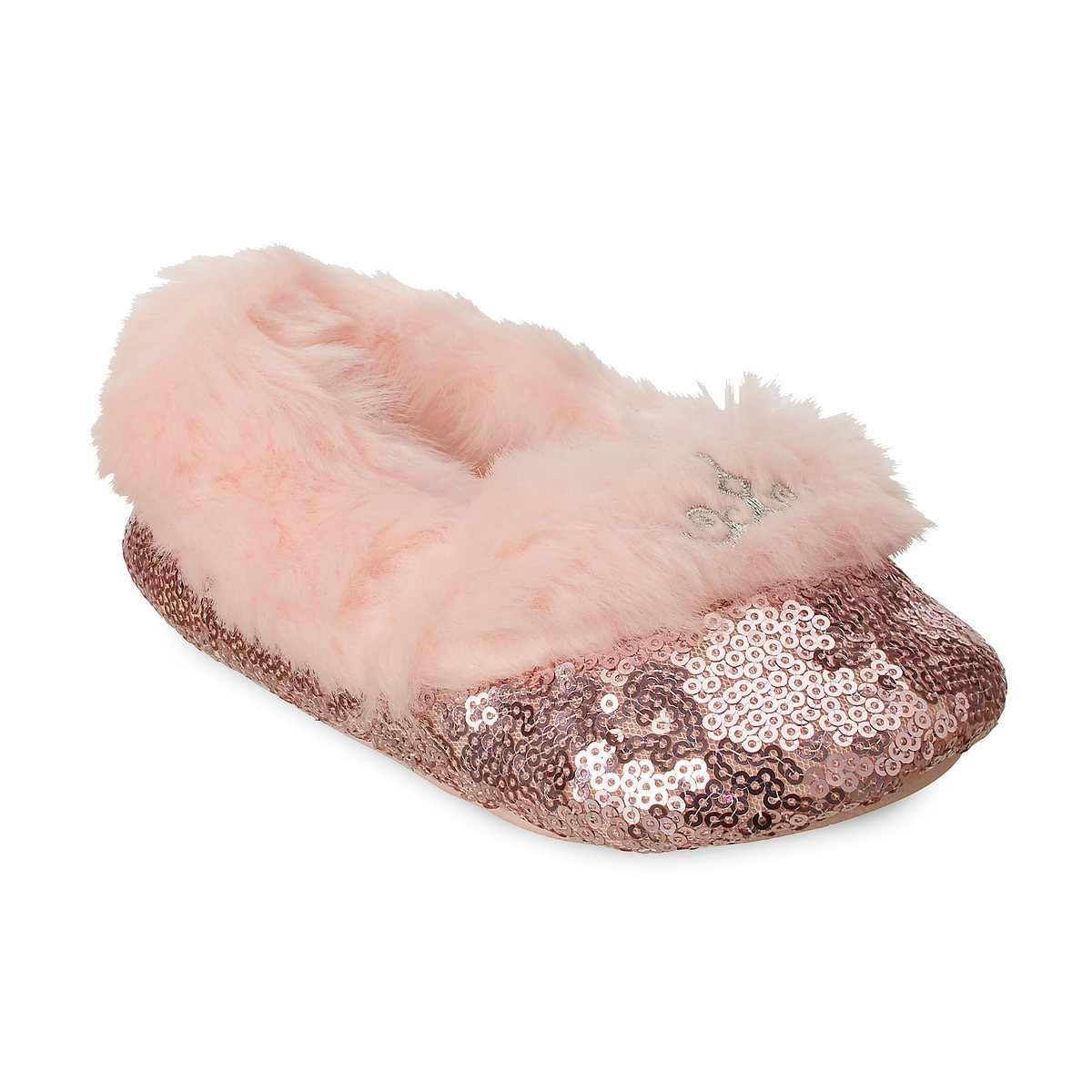 76b25f23cf2 Product Image of Disney Princess Sequin Slippers for Kids   1