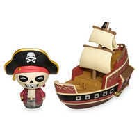 Image of Jolly Roger with Pirate Ship Dorbz Ridez Vinyl Figure Set by Funko - Pirates of the Caribbean # 3