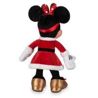 Santa Minnie Mouse Plush - Medium