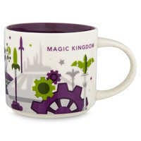 Image of Magic Kingdom Starbucks YOU ARE HERE Mug # 1