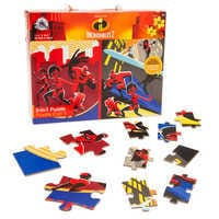 Image of Incredibles 2 Two-in-One Deluxe Puzzle Set # 1