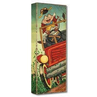 Mr. Toad ''The Wild Ride'' Giclée on Canvas by Trevor Carlton