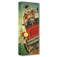 Image of Mr. Toad ''The Wild Ride'' Giclée on Canvas by Trevor Carlton # 1