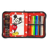 Image of Mickey Mouse Zip-Up Stationery Kit # 5