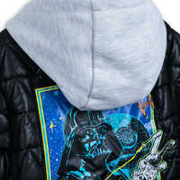 Image of Darth Vader Hooded Jacket for Kids - Personalizable # 5