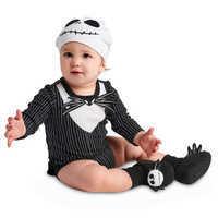 Image of Jack Skellington Costume Bodysuit Set for Baby # 2