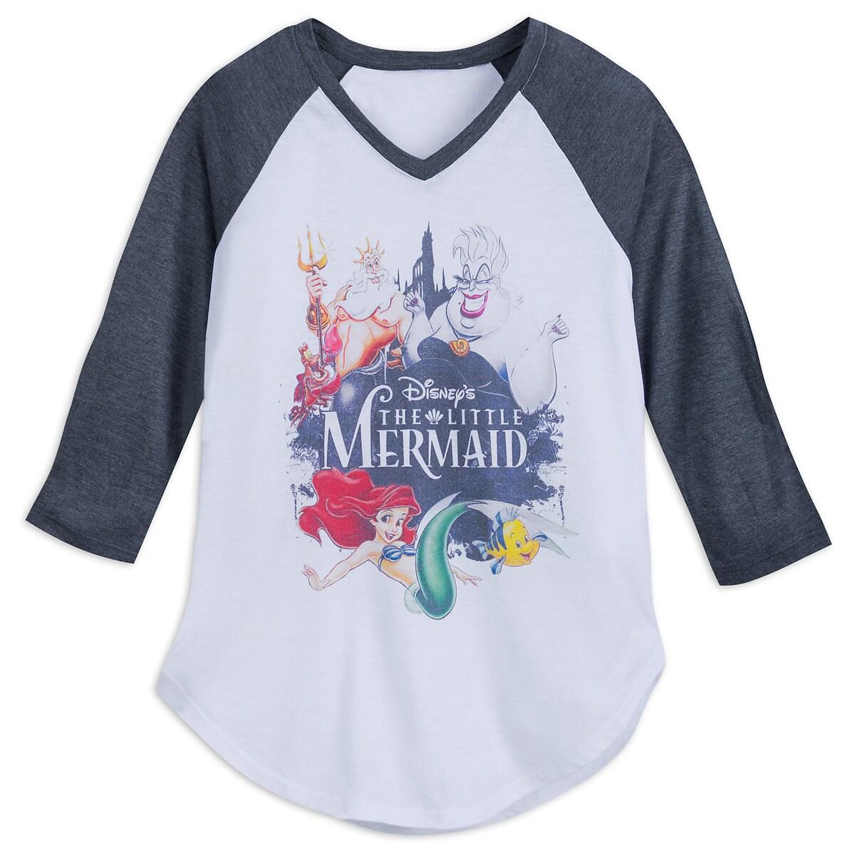 4b4ef0e00 Product Image of The Little Mermaid Raglan T-Shirt for Juniors # 1