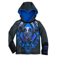 Image of Black Panther Hooded Sleep Set for Boys # 3