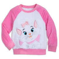 Image of Marie Fuzzy Pajama Set for Kids - The Aristocats # 2