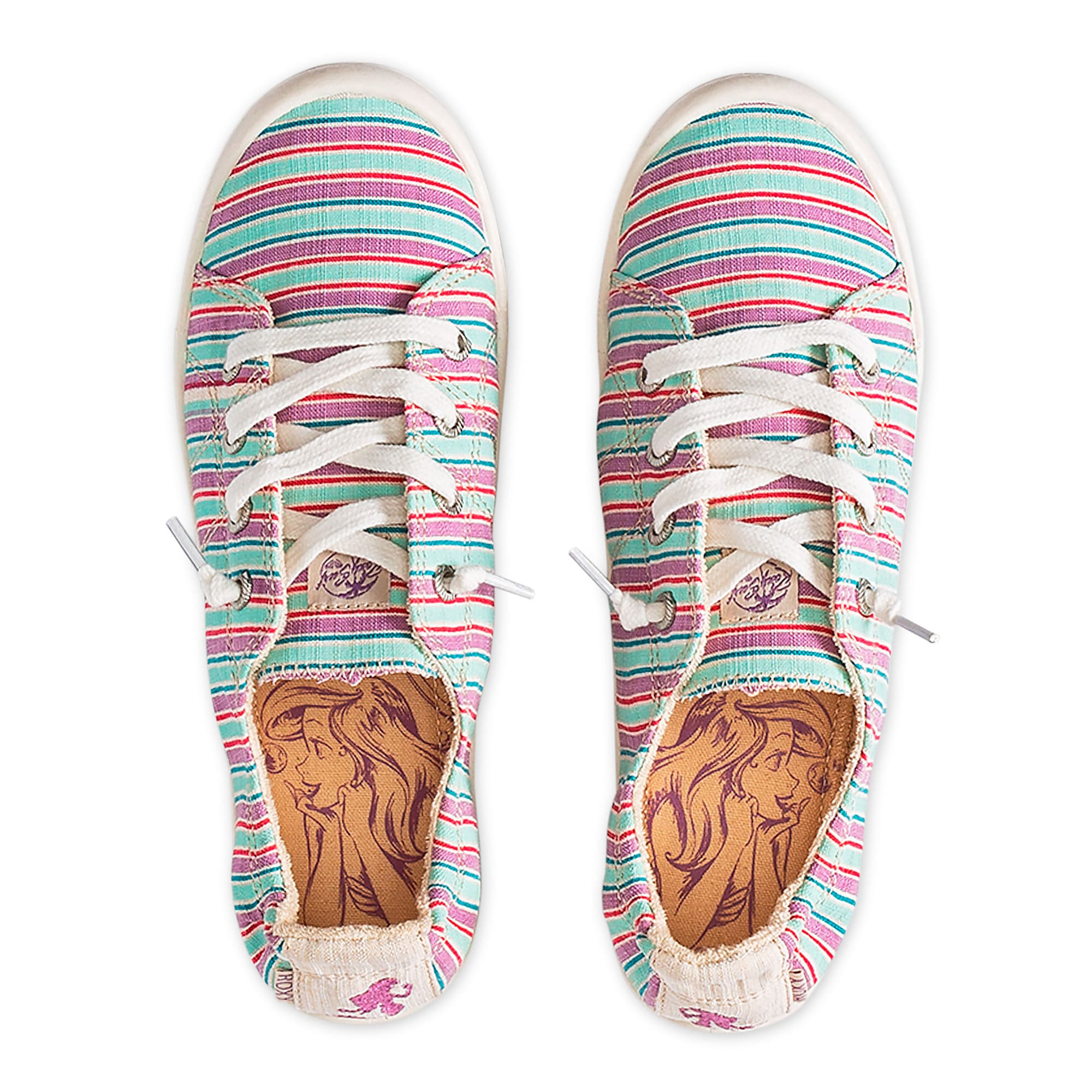 acd166b3a250 Ariel Striped Sneakers for Girls by ROXY Girl