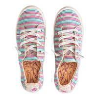 Image of Ariel Striped Sneakers for Girls by ROXY Girl # 1