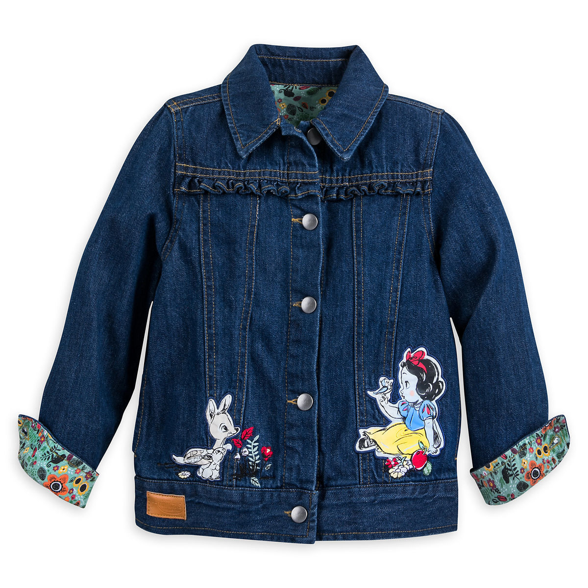Snow White Denim Jacket For Girls Disney Animators Collection