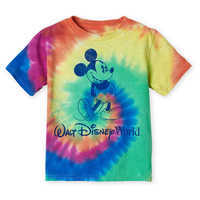 Image of Mickey Mouse Tie-Dye T-Shirt for Toddlers - Walt Disney World # 1