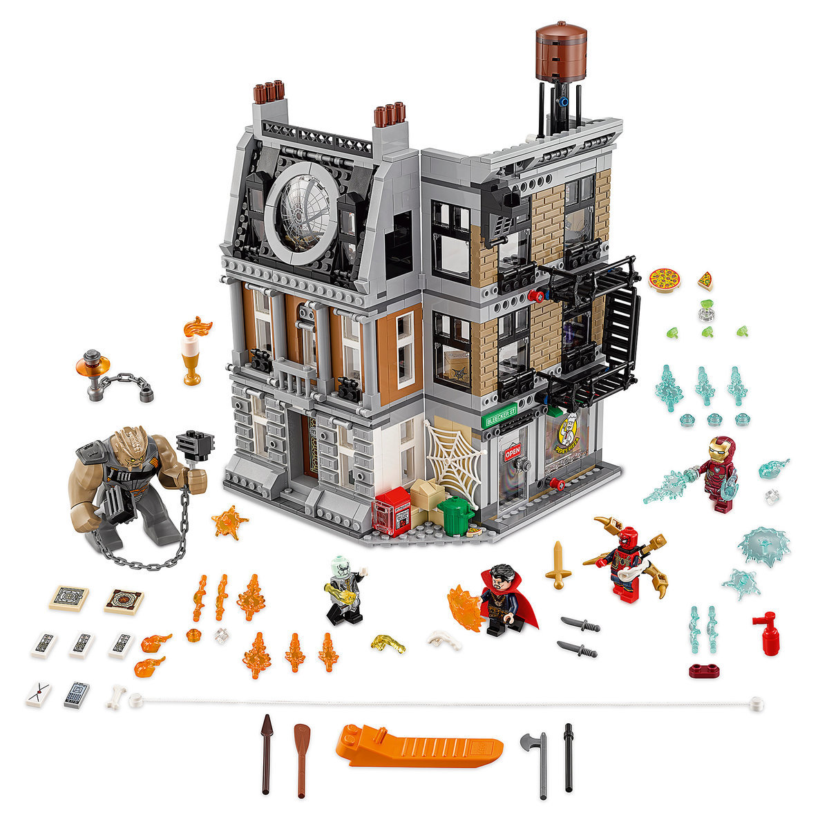 Sanctum Sanctorum Showdown Playset By Lego Marvels Avengers