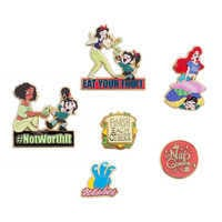 Image of Vanellope and Princesses from Ralph Breaks the Internet Pin Set - Limited Edition # 1