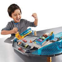 Image of Cars Rollin' Raceway Playset by Mattel # 3