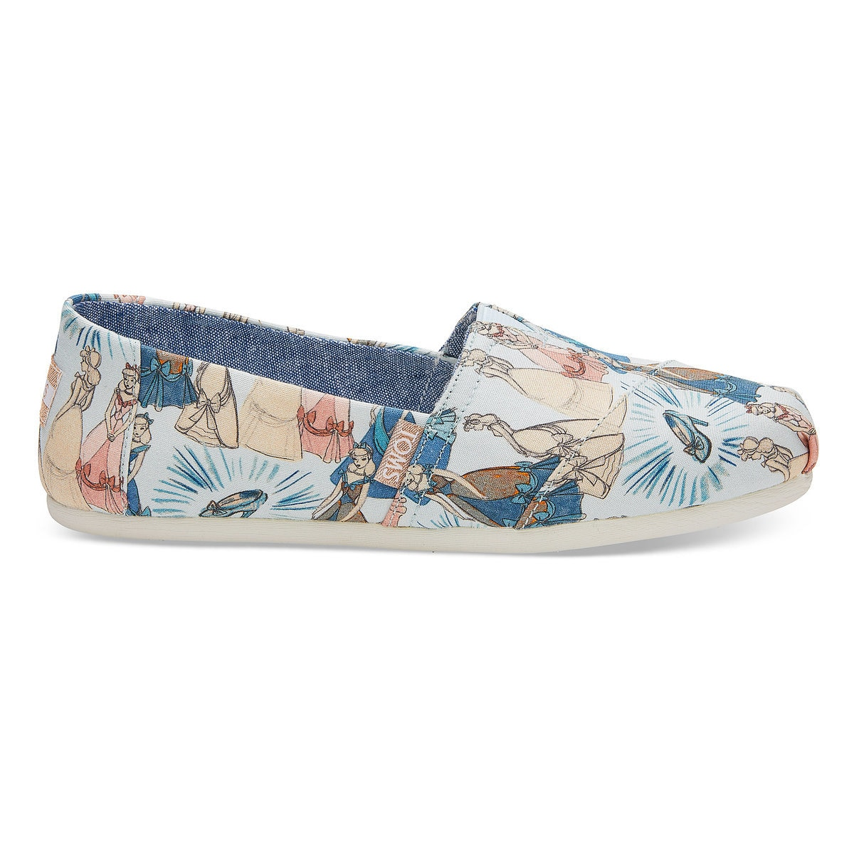 53f952890e9 Product Image of Cinderella Alpargatas Shoes for Women by TOMS   1