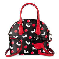 Image of Mickey Mouse Ear Hat Satchel by kate spade new york - Black # 1