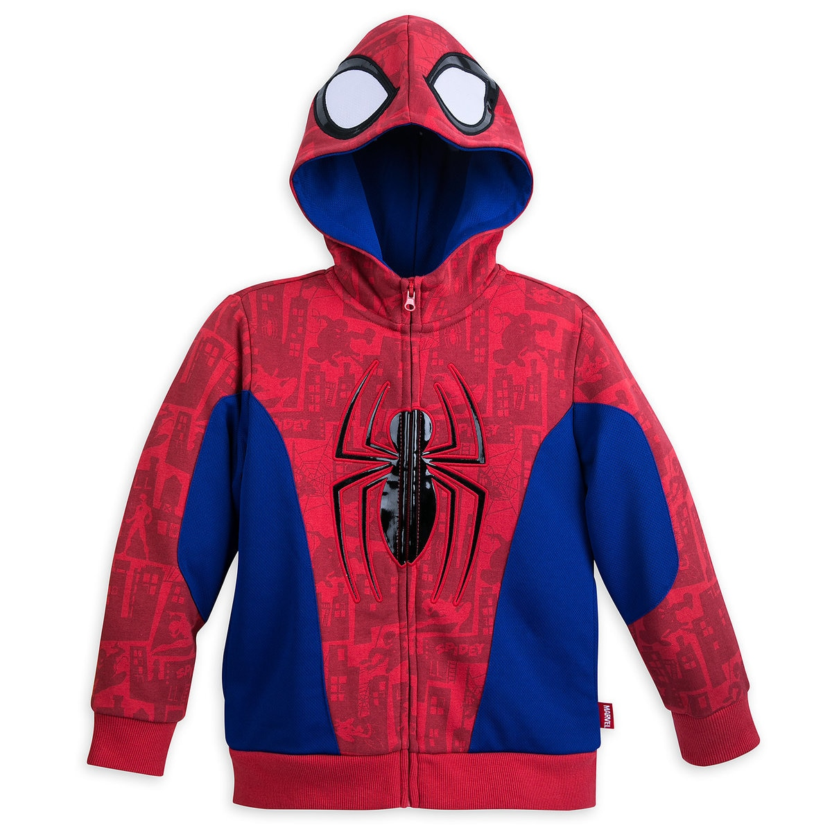0d6bf250d991 Product Image of Spider-Man Costume Fleece Hoodie for Boys # 1