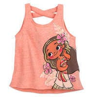 Image of Moana Fashion Swing Tank Top for Girls # 1