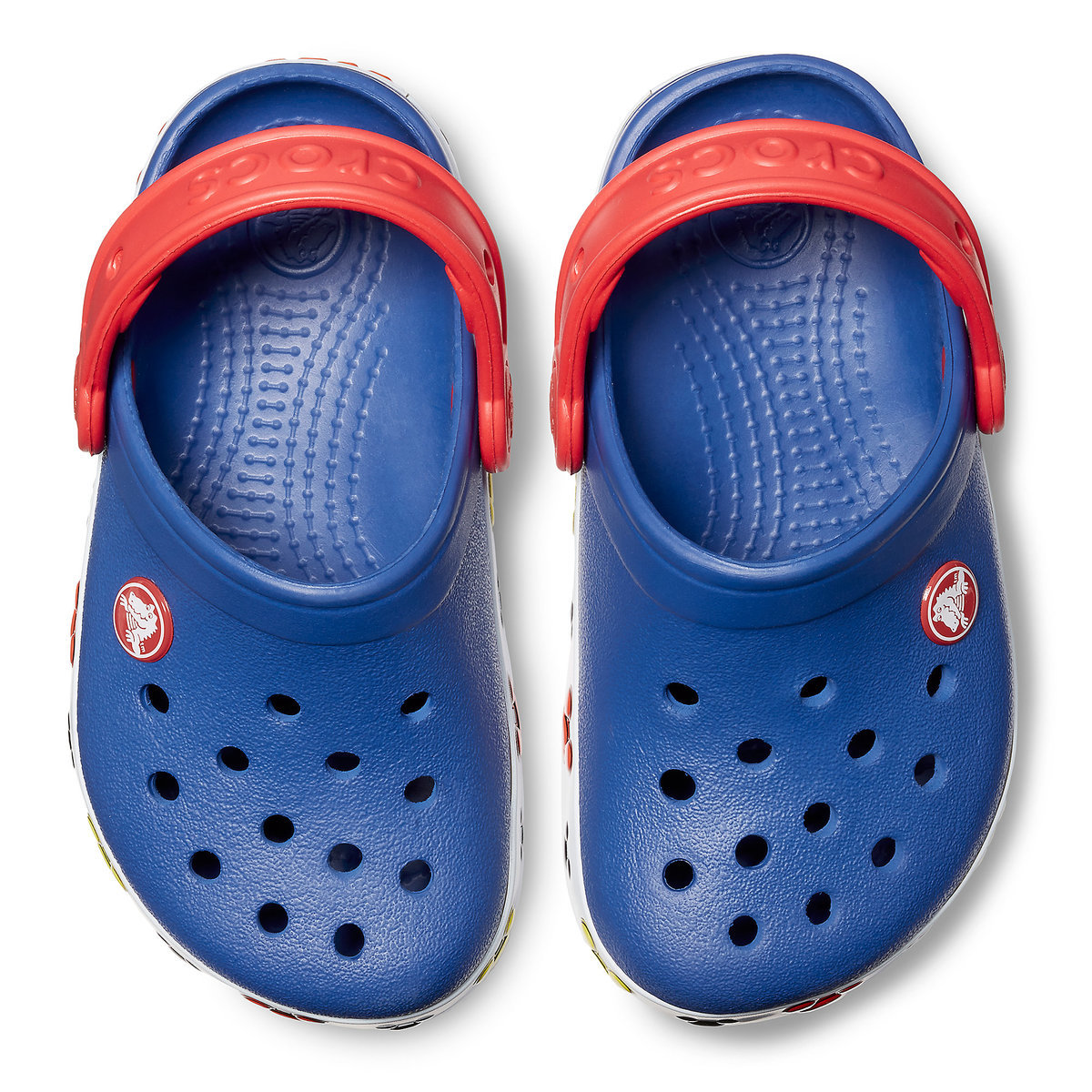 ed99aa12d Mickey Mouse Crocs™ Light-Up Clogs for Kids - Blue