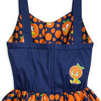 Image of Orange Bird Dress for Women # 4