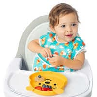 Image of Winnie the Pooh Silicone Grip Dish by Bumkins # 2