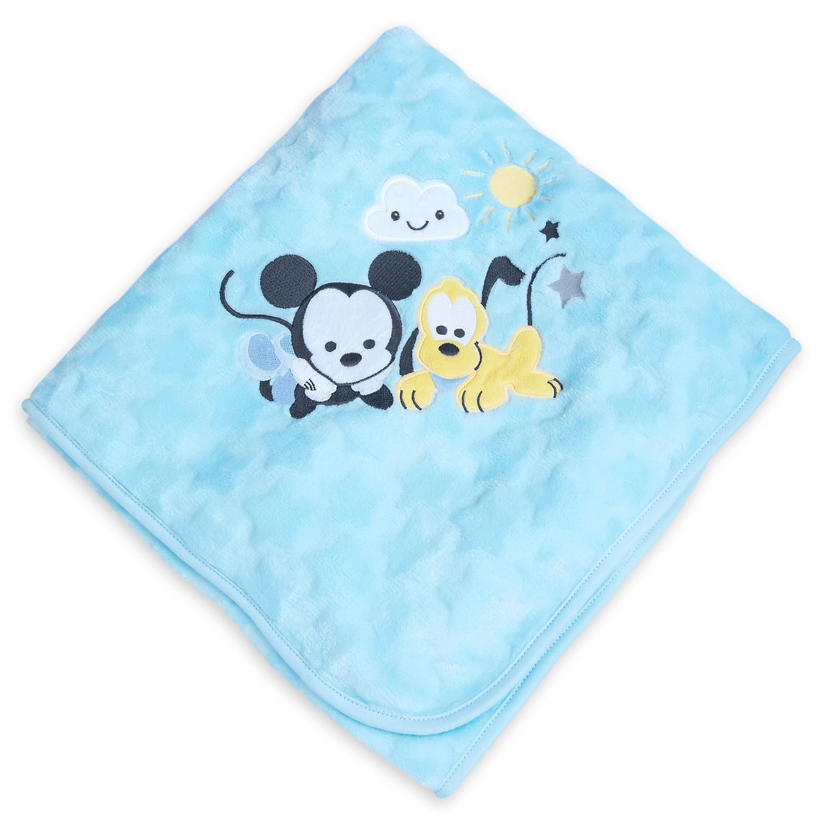 Mickey Mouse and Pluto Plush Blanket for Baby - Personalizable ...