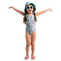 Image of Minnie Mouse and Figaro Swimsuit for Girls # 2
