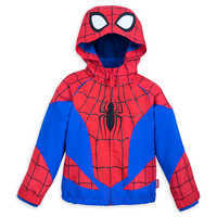 Image of Spider-Man Rain Jacket for Kids # 1