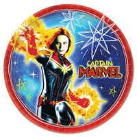 Image of Marvel's Captain Marvel Lunch Plates # 1