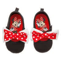 Image of Minnie Mouse Costume Shoes for Baby - Black # 2