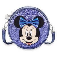 Image of Minnie Mouse Potion Purple Crossbody Bag for Kids # 1