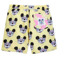 Image of Mickey Mouse Swim Trunks for Men by Neff # 4