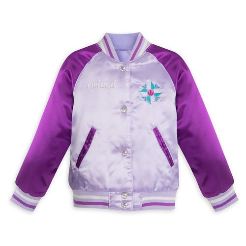 Frozen Varsity Jacket for Girls - Personalizable