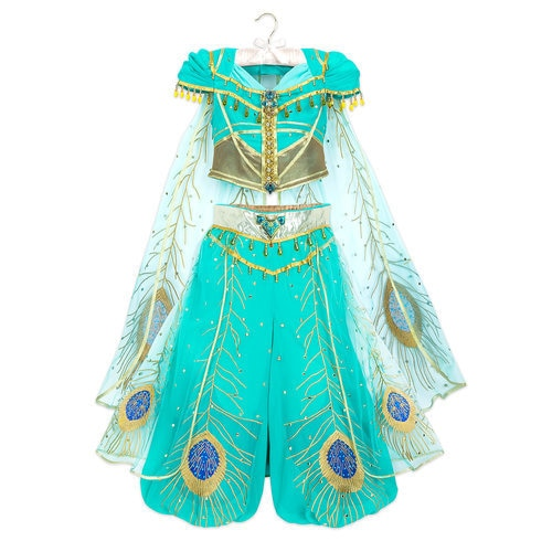 Jasmine Costume for Kids - Aladdin - Live Action Film - Limited Edition