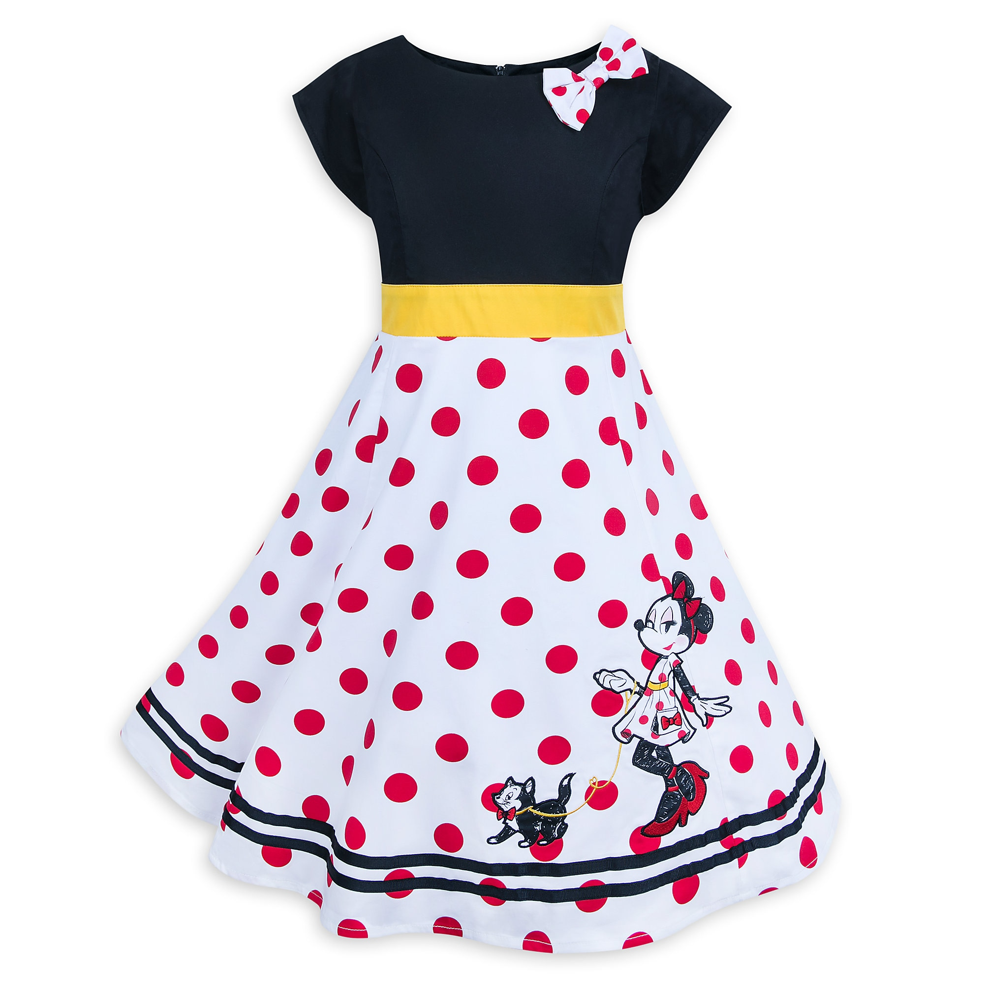 1d95977a4 Minnie Mouse and Figaro Dress for Girls now available for purchase