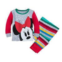Image of Minnie Mouse Holiday PJ PALS for Baby # 1