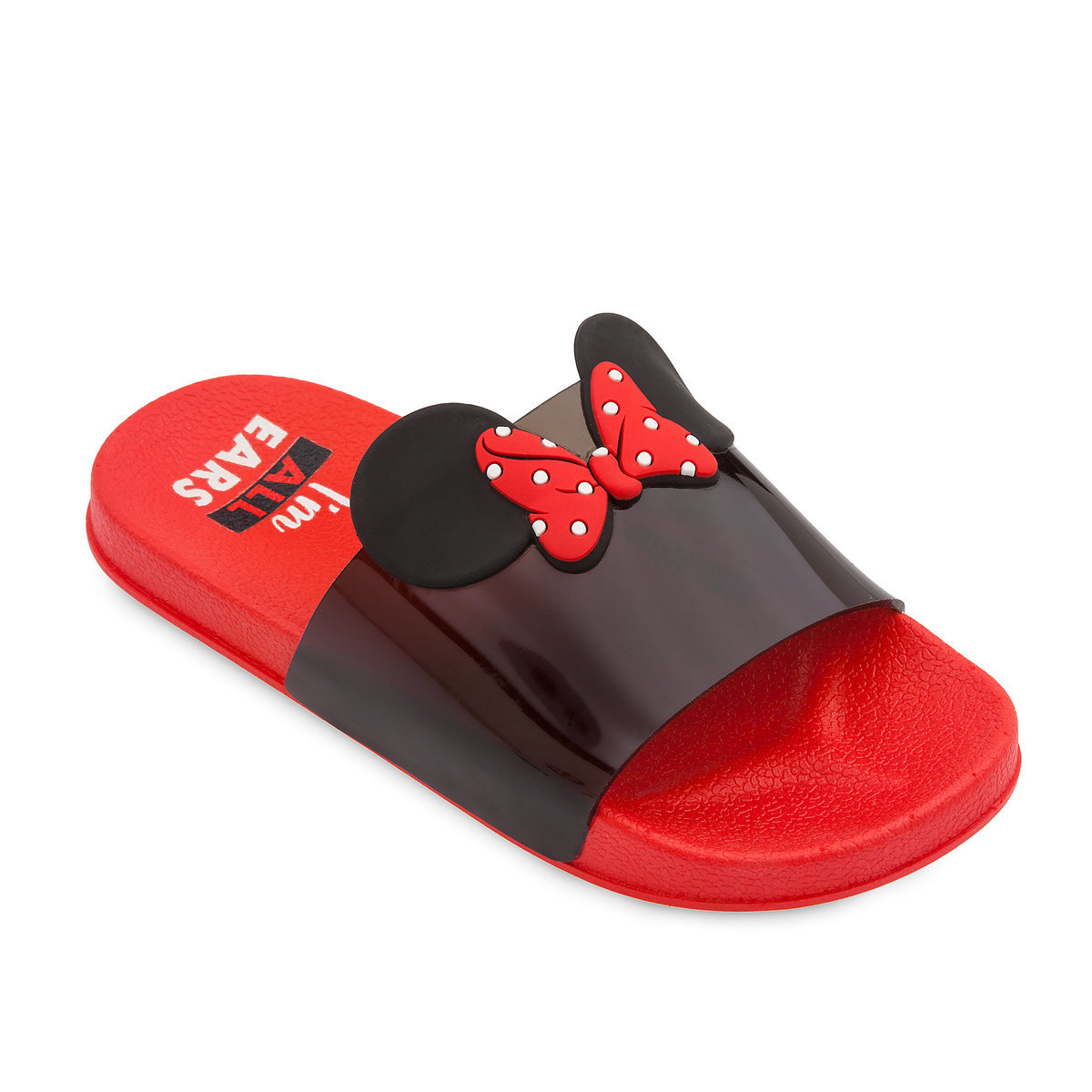 74c5f314c948 Product Image of Minnie Mouse Slides for Kids - Red   1