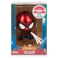 Image of Iron Spider Cosbaby Bobble-Head Figure by Hot Toys - Marvel's Avengers: Infinity War # 3