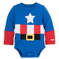 Image of Captain America Costume Bodysuit for Baby # 3