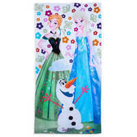 Image of Frozen Beach Towel - Personalizable # 1