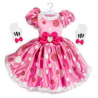 Image of Minnie Mouse Pink Dress Costume for Kids # 1