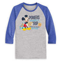 Image of Mickey Mouse Family Vacation Raglan Shirt for Men - Disneyland 2019 - Customized # 3