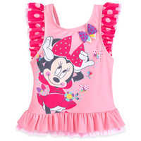 Image of Minnie Mouse Deluxe Swimsuit for Girls # 4
