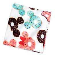 Image of Mickey and Minnie Mouse Donut Fleece Throw # 1